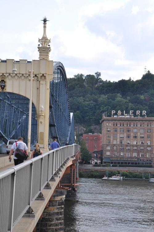 Bridge Pittsburgh Skyline cityscape