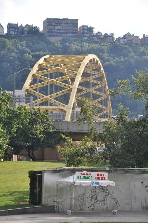 Pittsburgh Skyline cityscape bridge