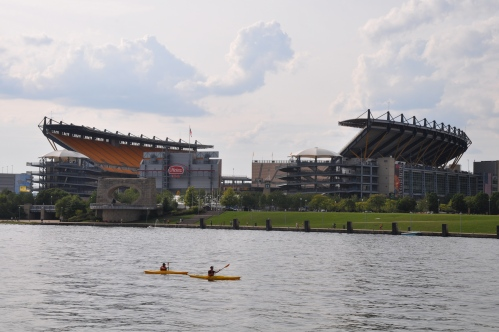 Pittsburgh cityscape Heinz Field