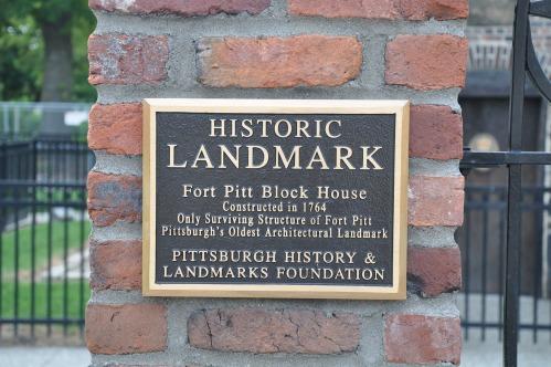 Pittsburgh Fort Pitt historic landmark