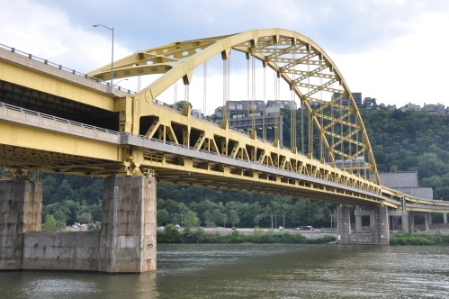 Pittsburgh Steel Bridge Monongahela River