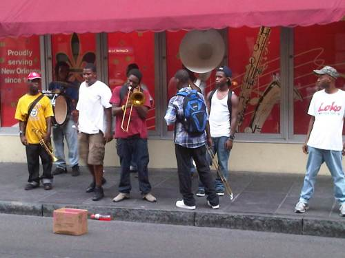 Street band, New Orleans