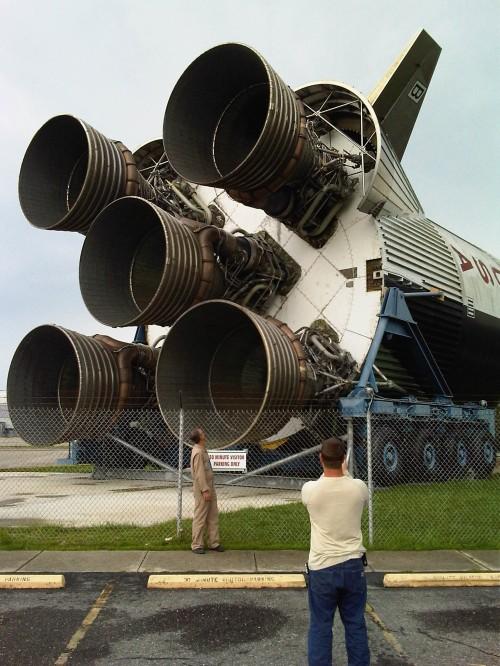 NASA rocket, New Orleans
