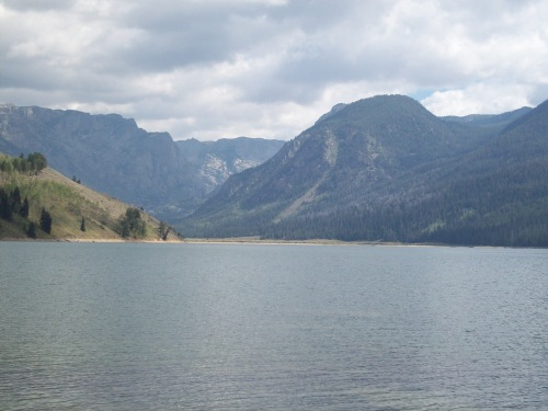 Newfork Lakes Wyoming