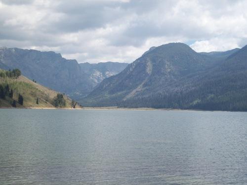 Newfork Lakes Wyoming