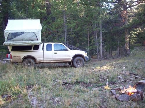 Union Pass, Wyoming Camper