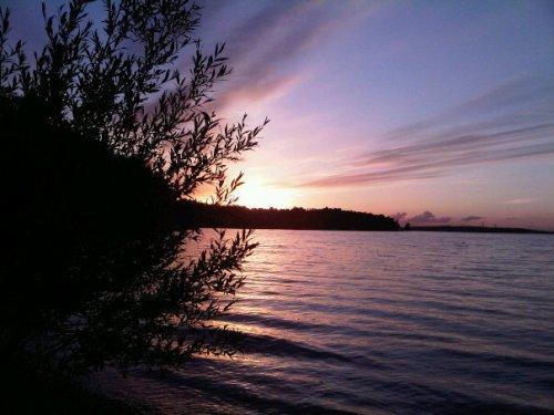 Sunset at Lake Pokegama