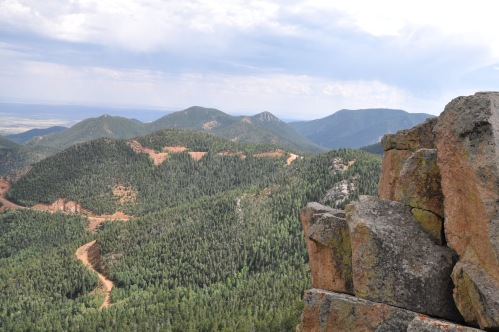 St Peter's Dome - Old Stage Road in Colorado Springs, Colorado