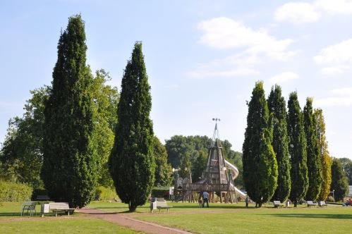 Jülich - Brueckenkopfpark gardens