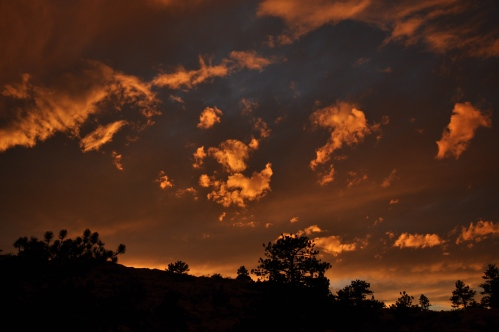 Colorado sunset.