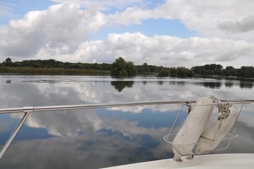 Boating on the Rhine