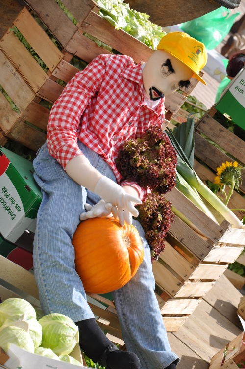 Creepy German Scarecrow