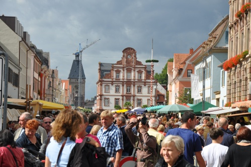 Speyer, Germany, town square