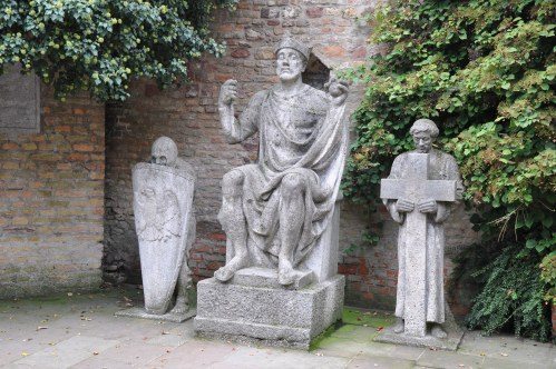 Statue in Speyer, Germany