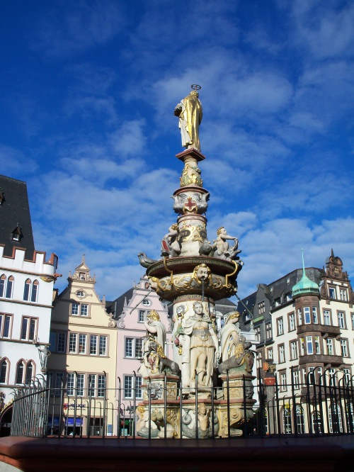 Fountain in Trier, Germany