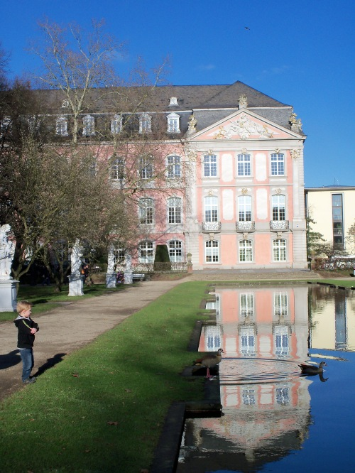 The Palace of Trier Garden