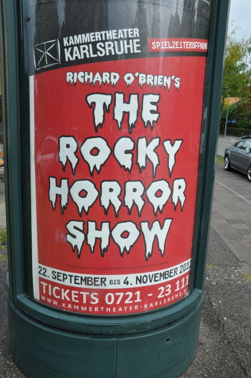 The Rocky Horrow Show poster