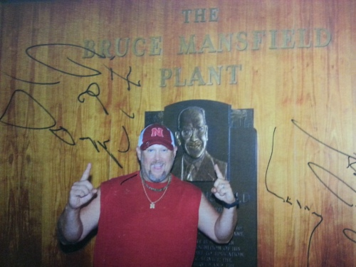 Larry the Cable Guy Mansfield station...