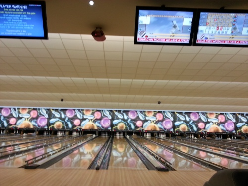 Bowling alley in Doncaster, England