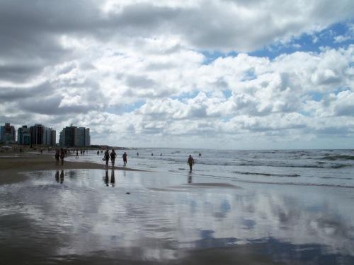beach Punta del Este, Uruguay