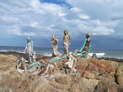 statue Punta del Este, Uruguay