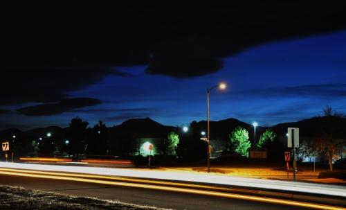 Long exposure shot - Boulder, Colorado
