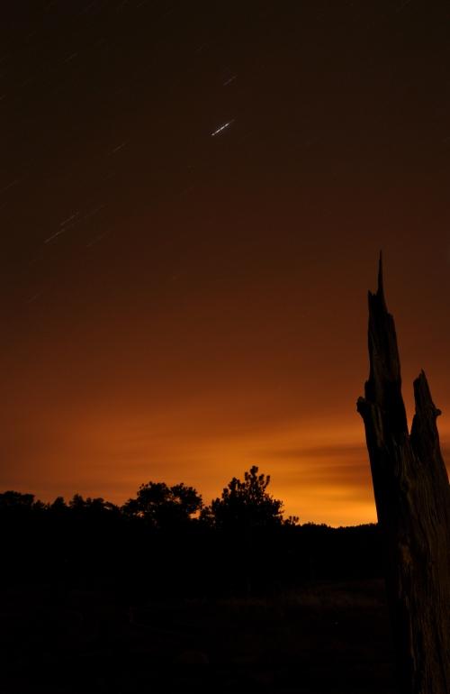 Long exposure shot - Stars - Mountains, Colorado