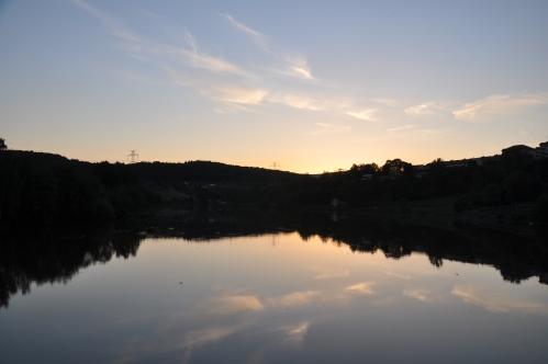 Kadan Ohře River