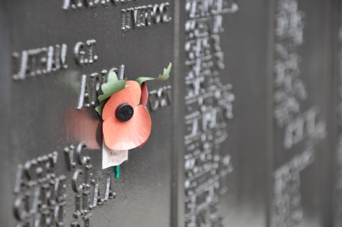 A fallen sailor memorial.