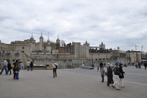 And this here is the Tower of London.