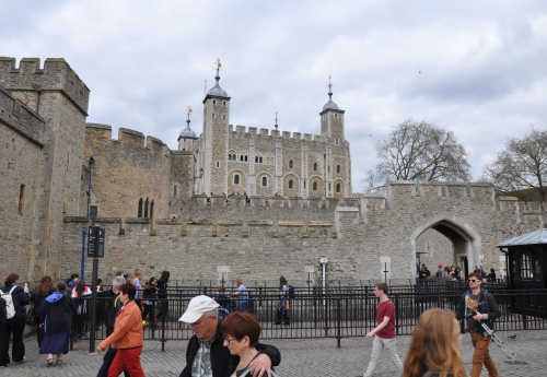The Tower Of London isn't horribly tower-ish, but I suppose the standards for towers were a little different in the 11th century.