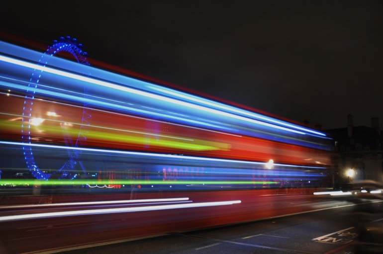 london - the london eye and big ben