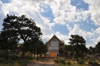 Mountain home in Colorado